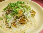 日式鯖魚罐頭豆腐漢堡肉食譜