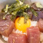 麻油口味渍鲔鱼丼