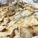 錫箔紙蒸烤美乃滋鱈魚|簡單快速的做法