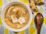 炒生薑金針菇味噌湯