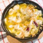 Ajillo西班牙橄榄油大蒜虾