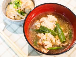 雞肉丸味噌湯