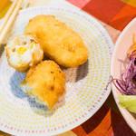 日式奶油玉米可樂餅
