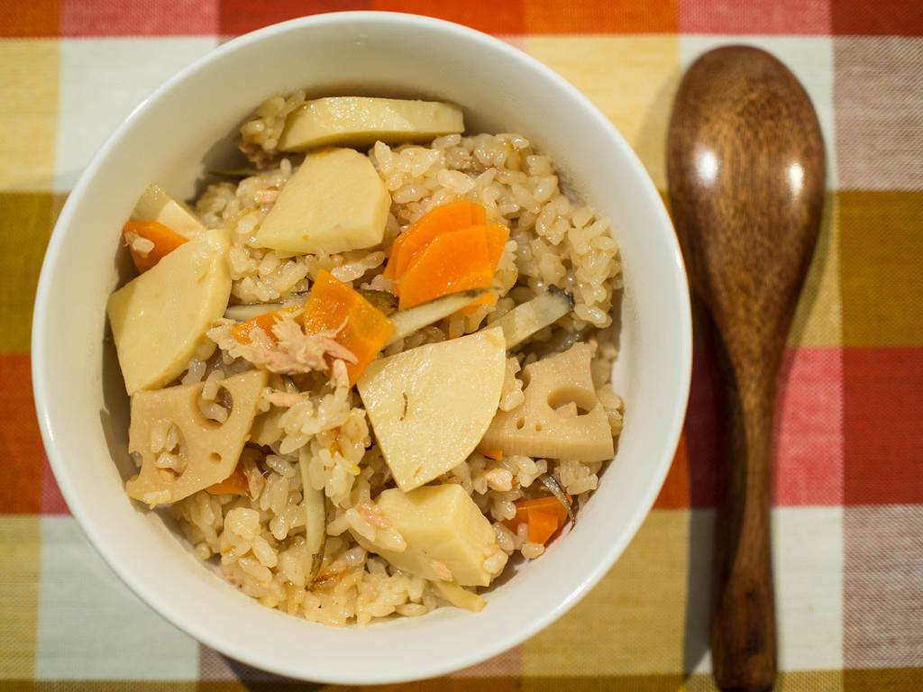 生薑鮪魚炊飯|電鍋料理