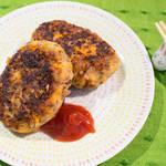 高粱米漢堡排|全素食