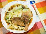 蠔油爆炒高麗菜豬肉