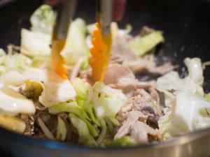 和風醬炒蔬菜豬肉