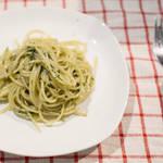 簡單自製青醬|青醬義大利麵