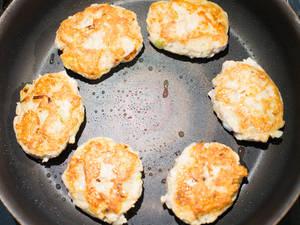 雞肉漢堡肉|佐蘿蔔泥柑橘醋醬油(ぽん酢)