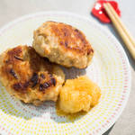 雞肉漢堡肉|佐蘿蔔泥柚子醋醬油