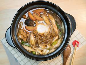 味噌鍋燒烏龍麵|名古屋名物
