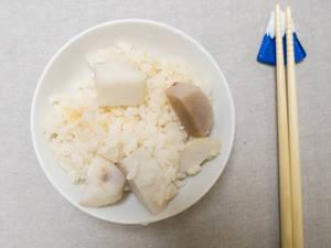 里芋(小芋頭)炊飯