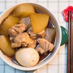 日式萝卜鸡肉煮物