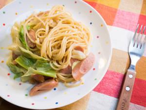 和風高麗菜義大利麵