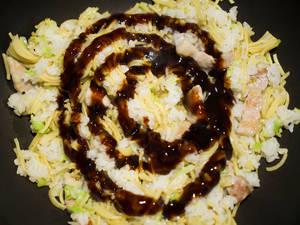 炒麵飯そばめし|神戶名物
