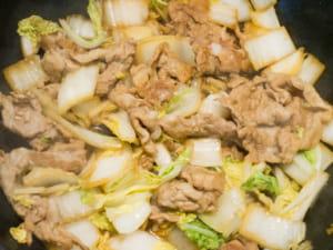 豬五花燒大白菜