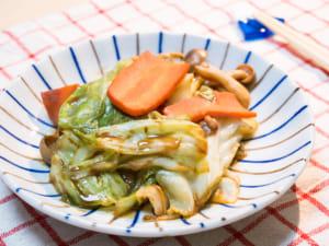 红味噌炒菜