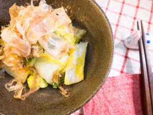 烫拌大白菜(柚子胡椒风味)