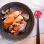 香菇蒟蒻日式煮物