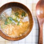 香菇高湯蛋花湯