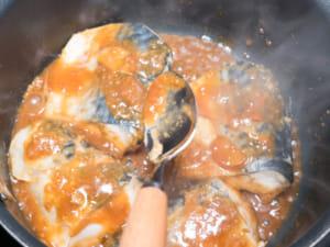 鯖魚味噌煮|日本定食店料理