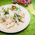 泰国风鸡肉香菜沙拉