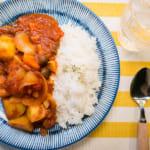 愛醬素食料理|無水番茄咖哩
