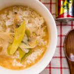 味噌蛤蠣泡飯|深川飯