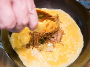 日式歐姆蛋包炒麵