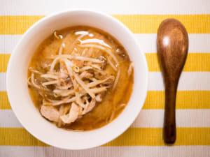 豬肉豆芽味噌湯