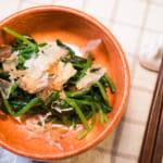 涼拌鰹魚醬油菠菜