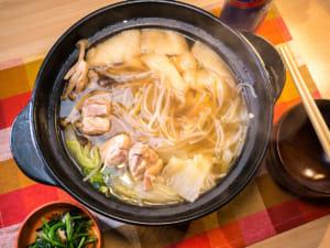 盐生姜鸡肉火锅