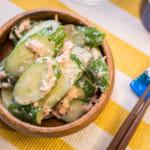 鮪魚黃瓜沙拉