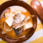 鯖魚豆芽辣醬湯