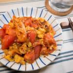 韩式泡菜番茄炒蛋