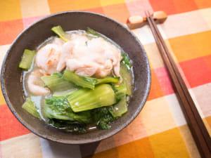 鹽燒青江菜雞腿肉