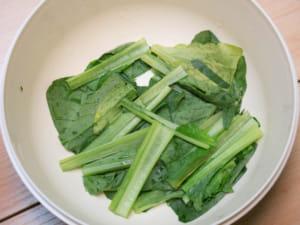 豬肉小松菜拌飯