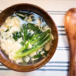 日式韭菜蛋花湯