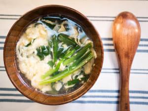 日式韭菜蛋花汤