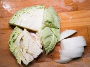 鮪魚清炒高麗菜