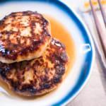 健康豆腐漢堡肉佐自製醬汁