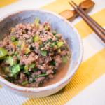肉末小松菜飯鬆