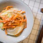 鮪魚醬炒萵苣紅蘿蔔