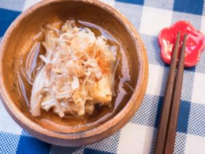 日式梅干拌金針菇