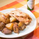 蒜香奶油馬鈴薯雞胸肉