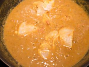 印度椰香咖哩飯