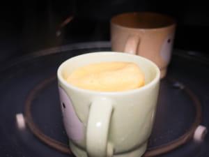 米蛋白創意料理|10分鐘微波爐做杯子蛋糕