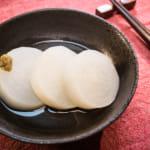 日式白高湯燉煮蘿蔔