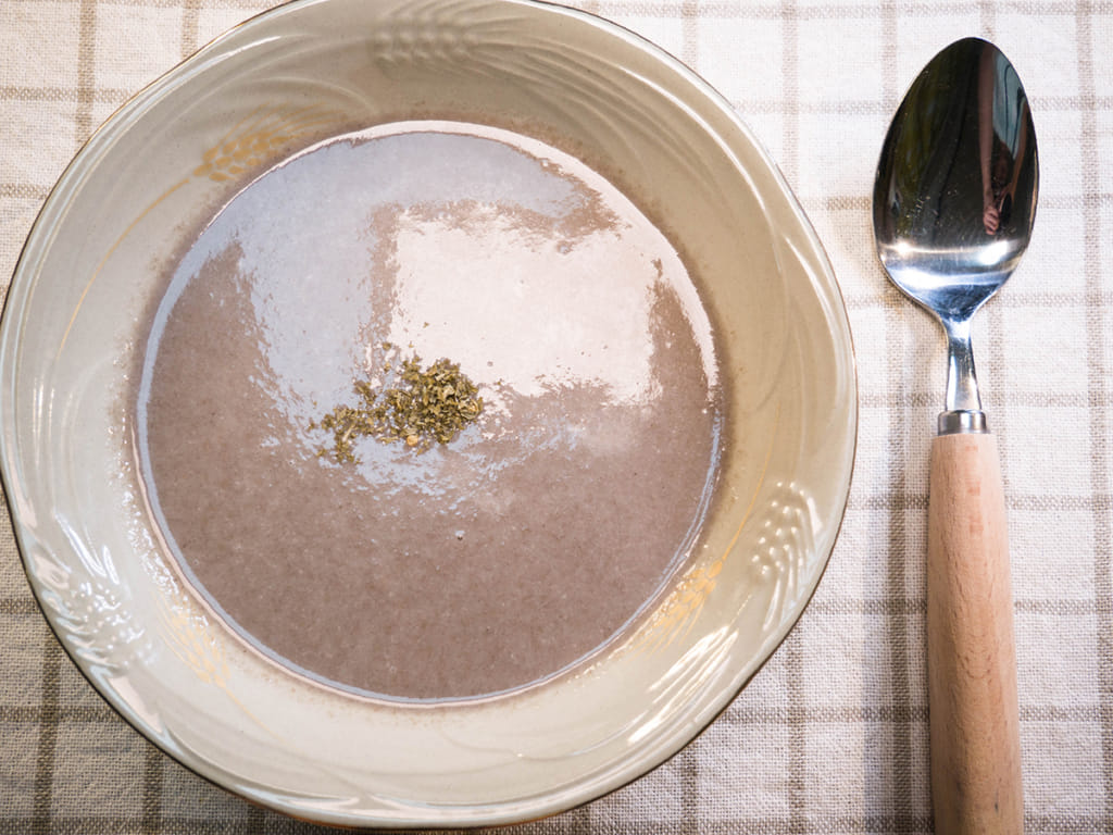 西式蘑菇濃湯作法