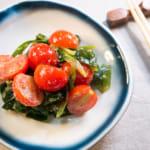 韭菜番茄沙拉